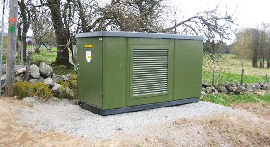 Kompaktstation bis 630 kVA.