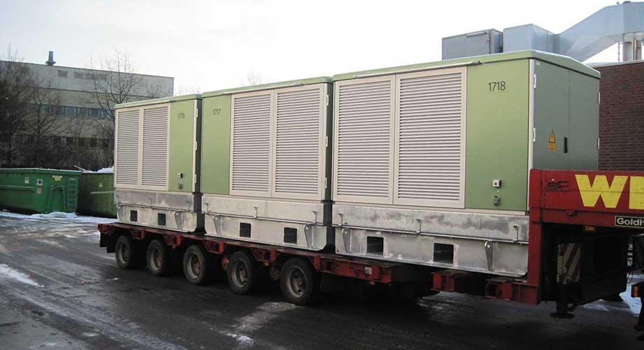 1600 kVA Trafostation