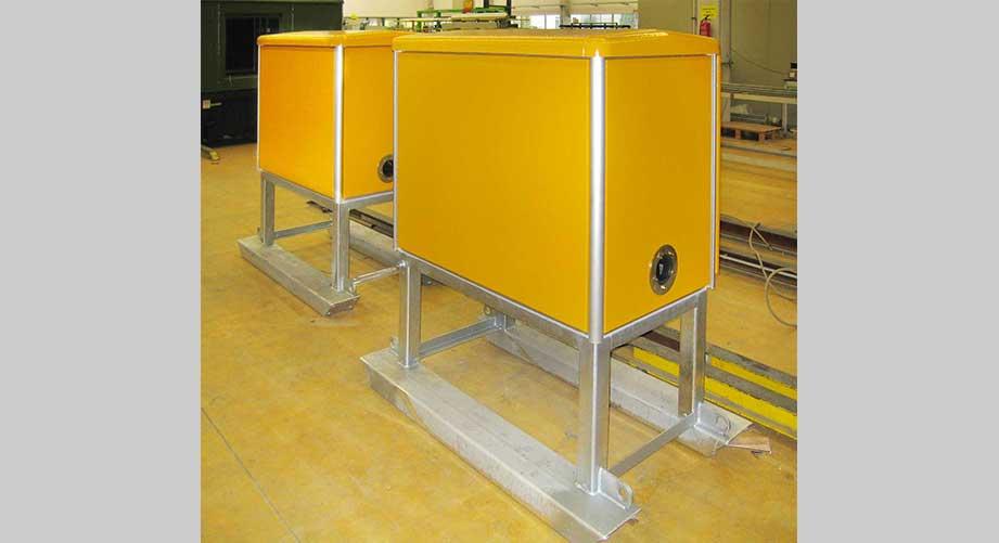 Mobiler 6 kV-Klemmschrank.