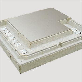 Stahlbeton-Fundamentplatte, Aussparungen und Durchführungen nach Wunsch
