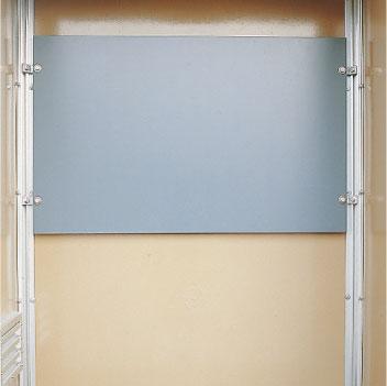 Montageplatte, Isolierstoff, auch aus Siebdruckplatte oder Stahlplatte verzinkt lieferbar