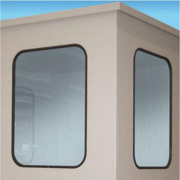 Sichtscheibe aus Kunststoff (Polycarbonat), Abmessungen variabel