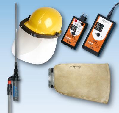 Elektrische Sicherheitsausrüstungen und Betriebsmittel, die dem aktuellen Stand der Normung und Technik entsprechen.