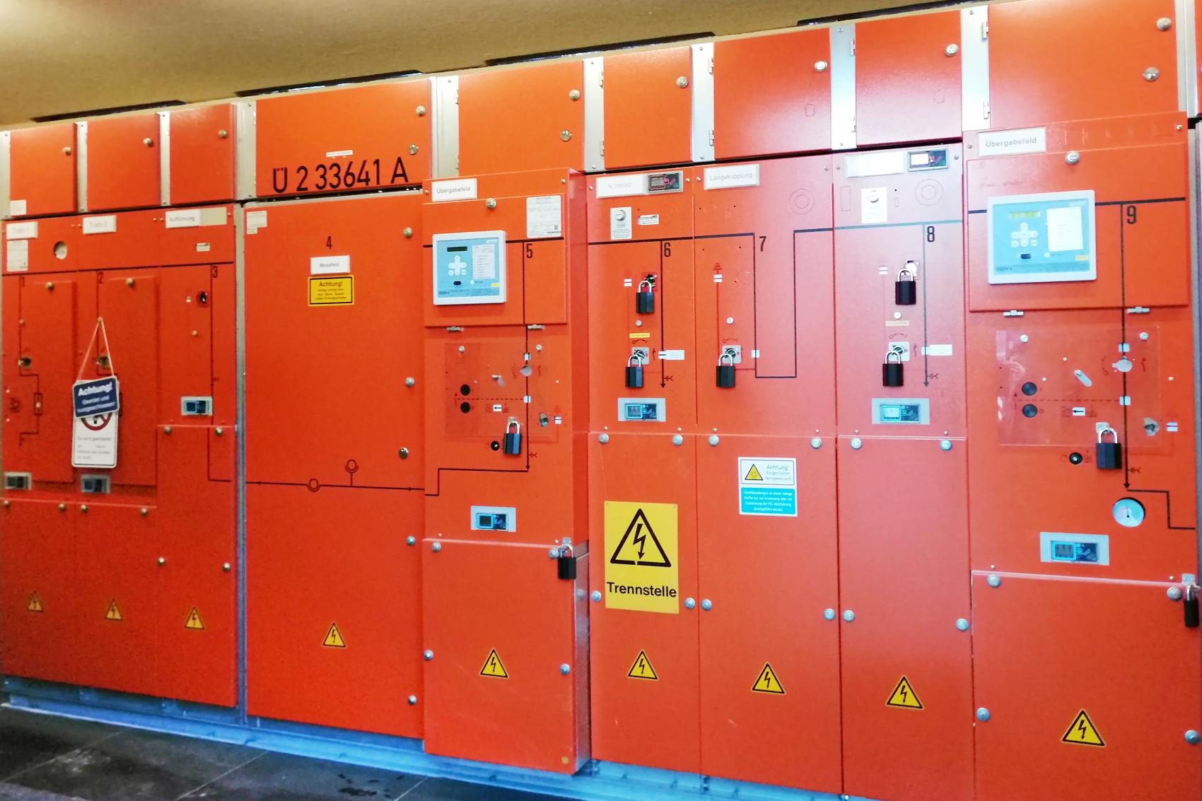 10 kV Minex Schaltanlage Teil A