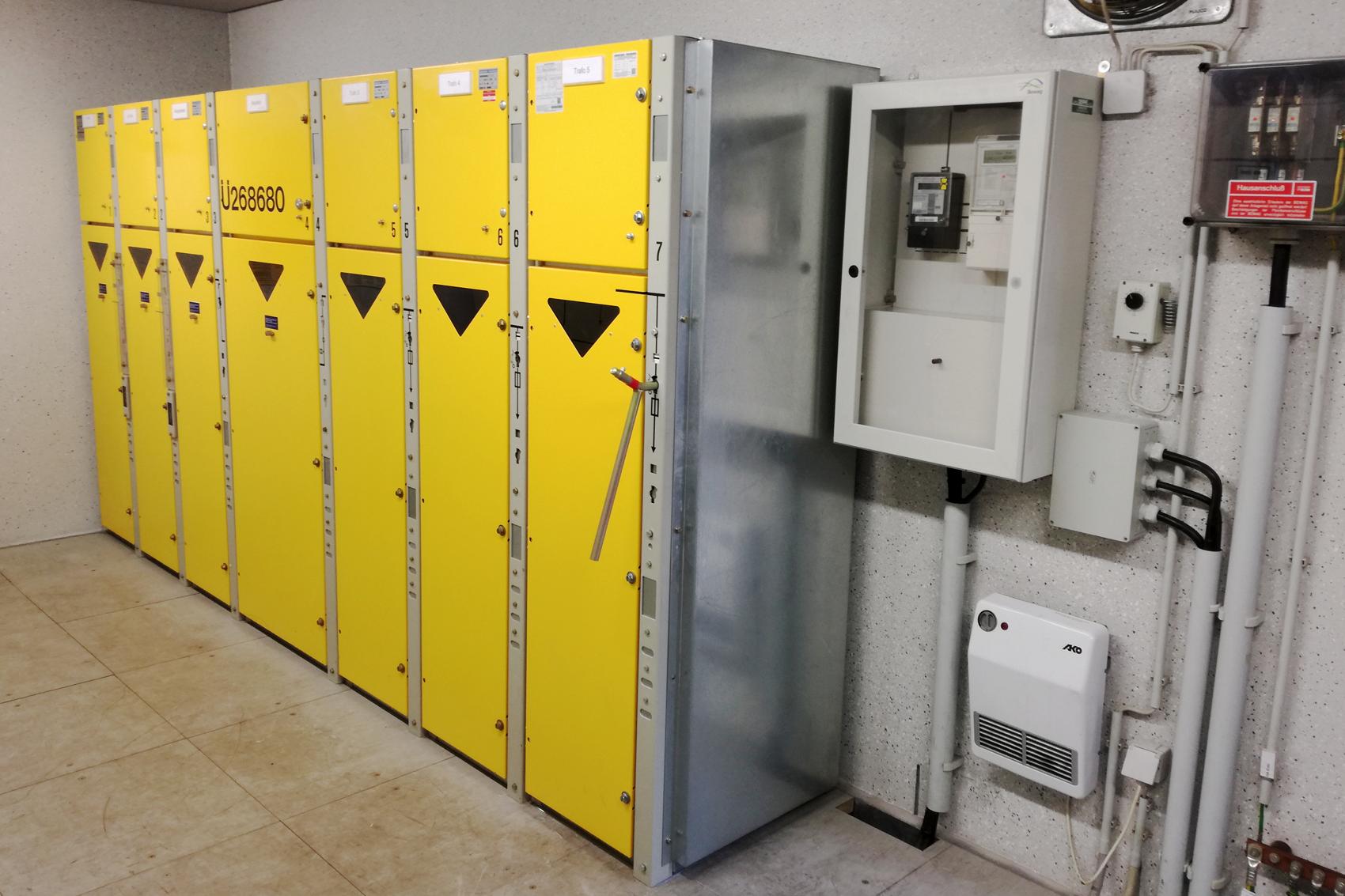 Übergabestation mit 10 kV Schaltanlage Typ LDTM