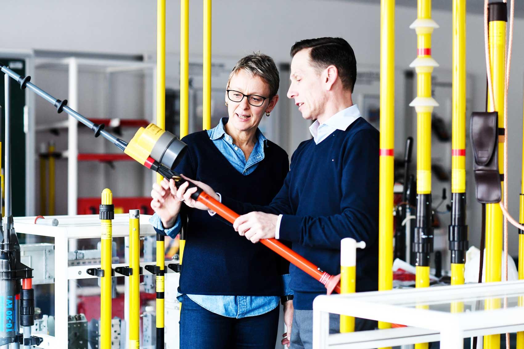 Sicherheitsgeräte und Arbeitsschutz
